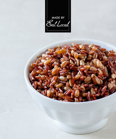 Nutrition details for Farro & Red Rice