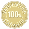 Image of Satisfaction 100% garantie