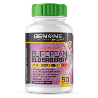 Ultra Premium European Elderberry (Natural Immune Defense Formula)