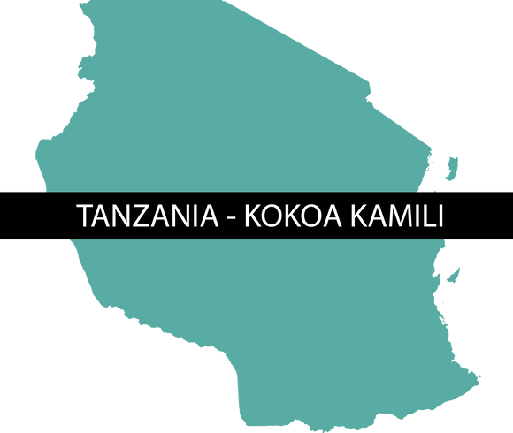 TANZANIA KOKOA KAMILI - RAW - Sweet Envy Chocolate and Tea LLC
