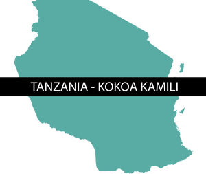 TANZANIA KOKOA KAMILI - NIBS - Sweet Envy Chocolate and Tea LLC