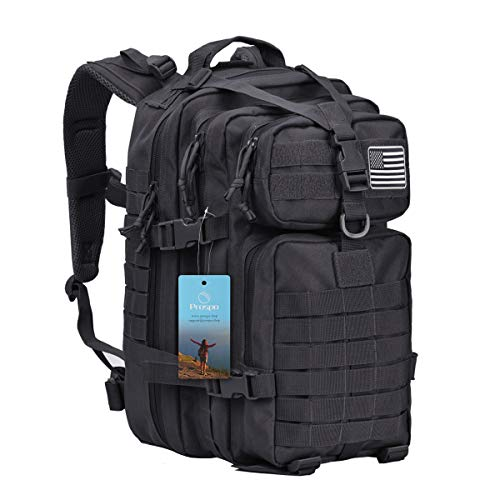 Prospo 40L Fishing Backpack Gear Military Tactical Assault Daypack Molle Shoulder Bag