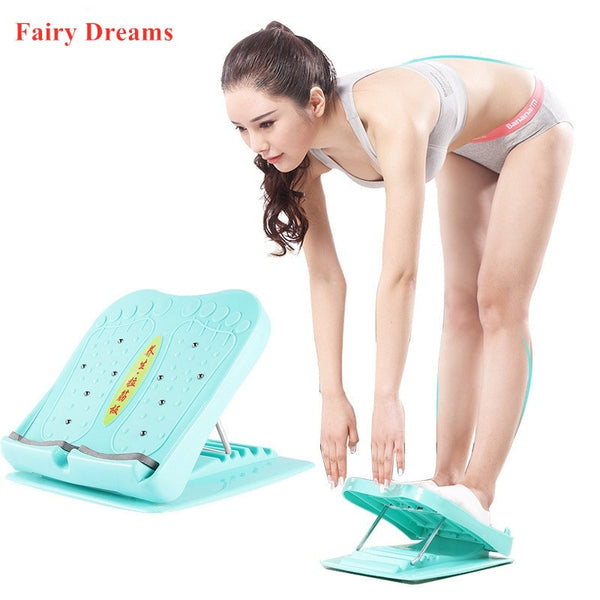 Adjustable Foot Calf Stretcher Incline Board Body Stretching Tool for Sports Yoga Massage Fitness Pedal Stretcher