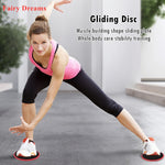 Gym Home Fitness Equipment Gliding Disc Taxi Panel Slide Accessories Abdominal Muscle Trainer Yoga Pilates Exercise Device