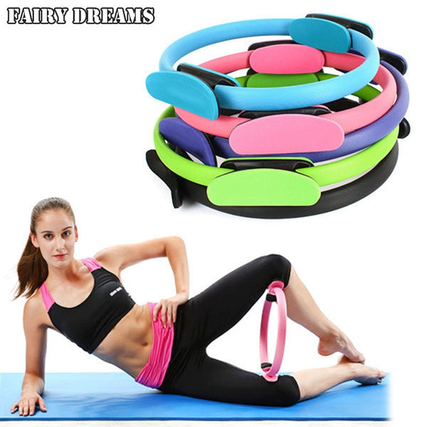 Magic Ring Circle Yoga Pilates Sport Fitness Kinetic Resistance Gym Workout Accesories Equipment