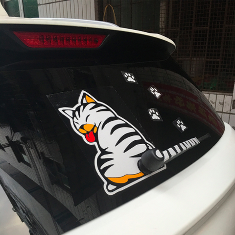 CAT REAR WIPER DECAL GIVEAWAY - FREE TODAY (JUST PAY SHIPPING)