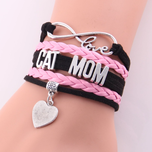 Cat Mom Bracelet Giveaway