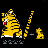 CAT REAR WIPER DECAL - 50% OFF TODAY