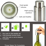 Wine Stopper Vacuum Pump Bottle Sealer
