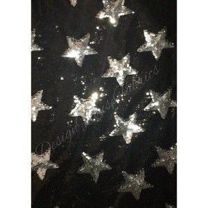 Star Sequin- Black