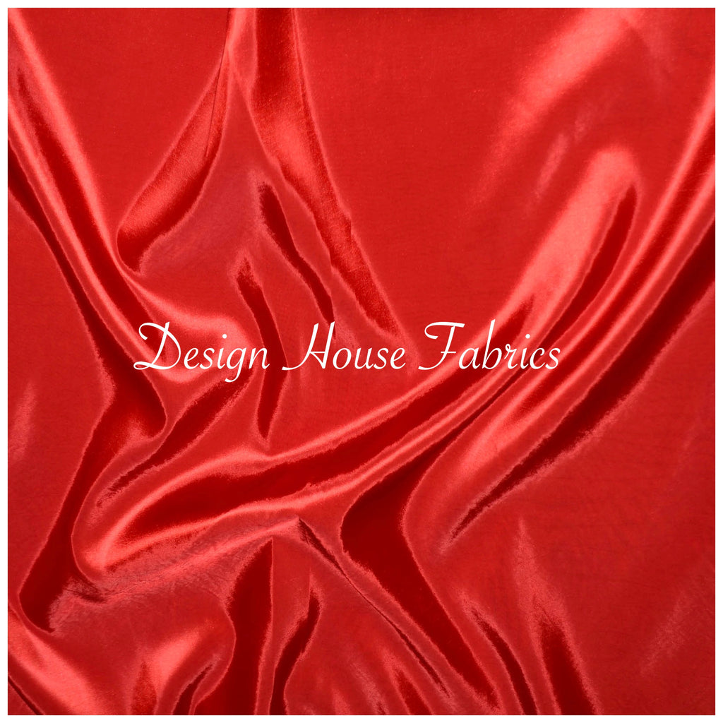Stretch Taffeta  - Red