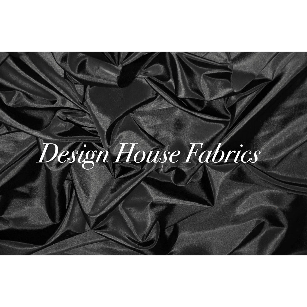 Stretch Taffeta  - Black