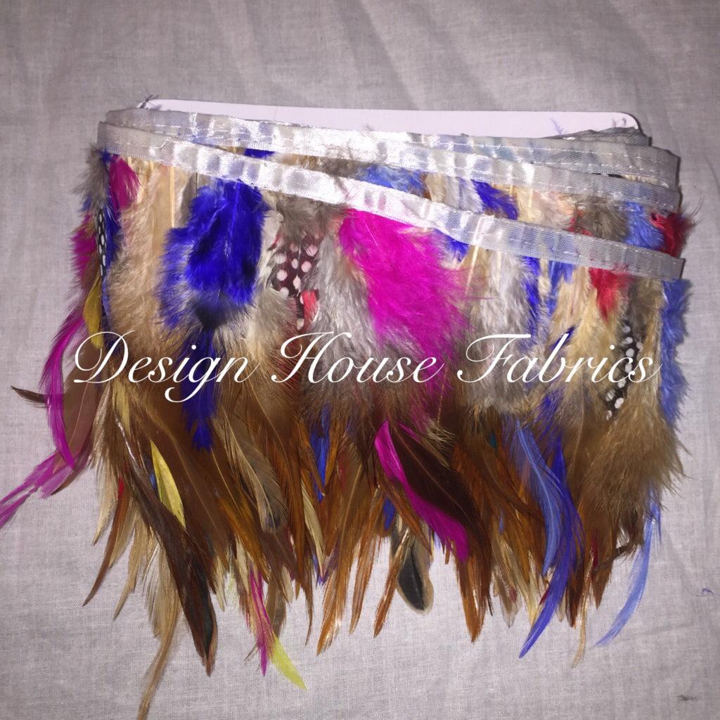Rooster Feather trim