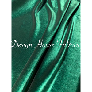 Premium Stretch velvet- Hunter Green