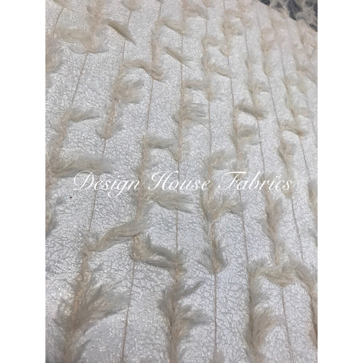 Feather Lace- Beige