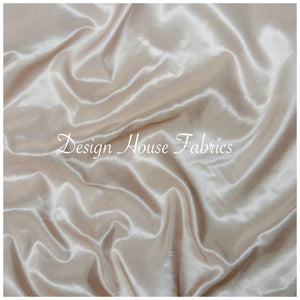 Stretch Taffeta  - Cream