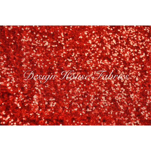 1. Glitz Sequin 4 - Red