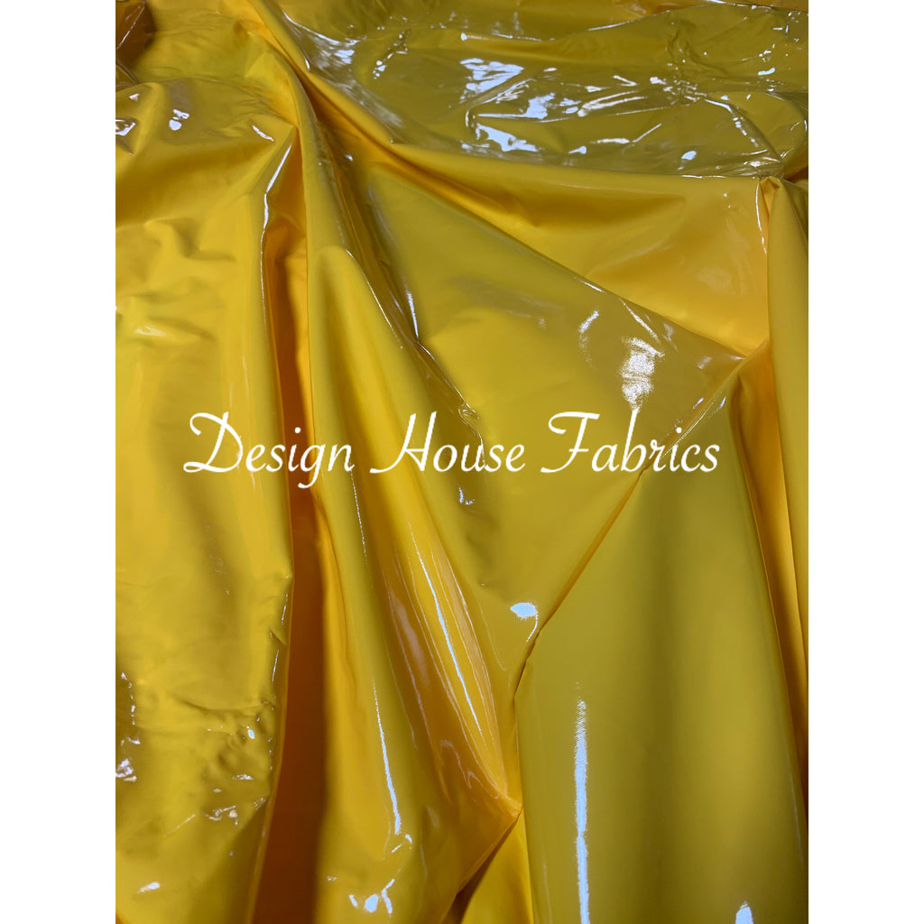 Stretch PVC Vinyl - Sunflower Yellow