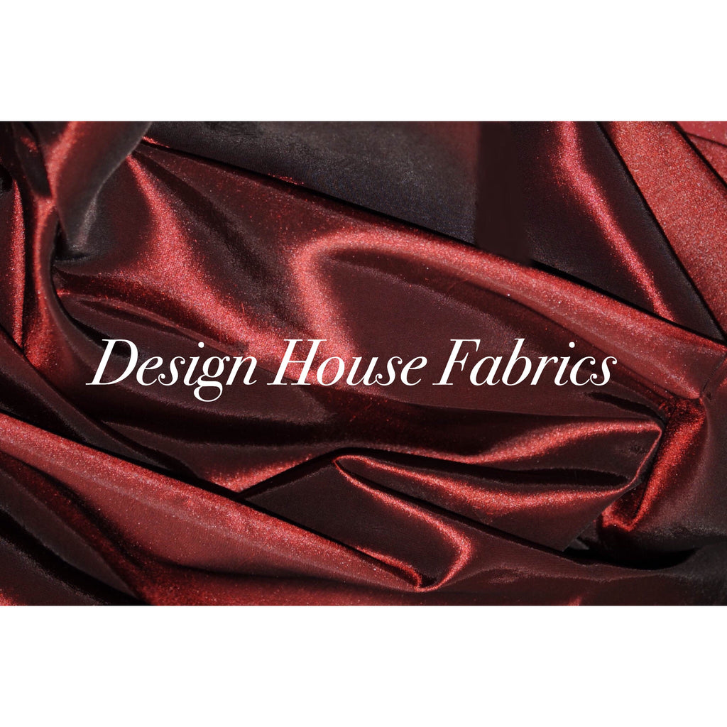 Stretch Taffeta  - Burgundy