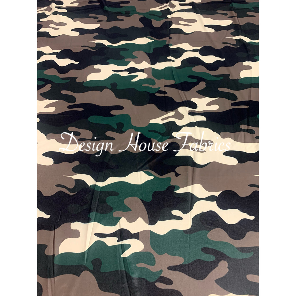 Camo Print - Brown/Black/Green