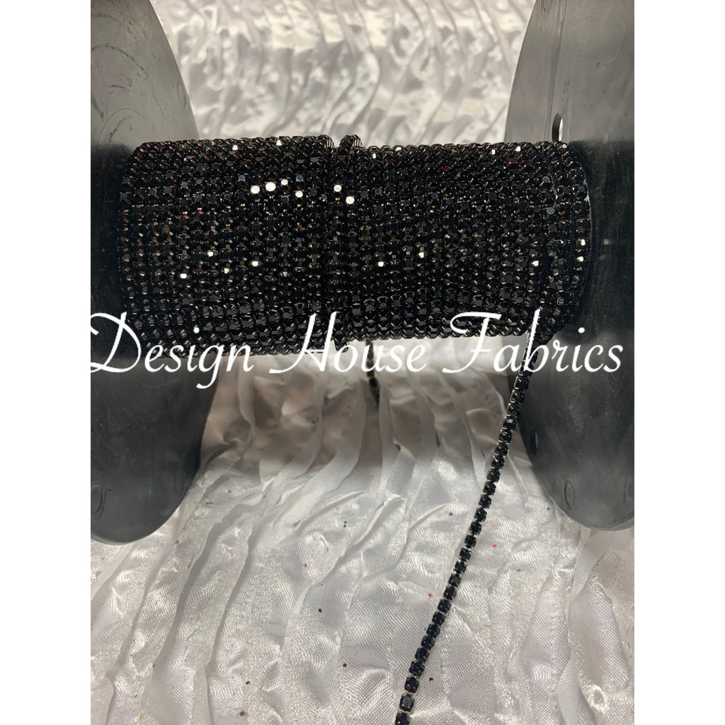 Rhinestone Chain Trim