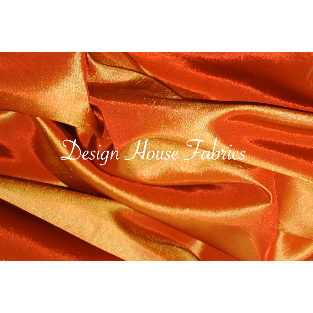 Stretch Taffeta  - Orange