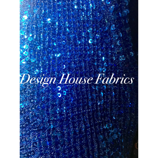 4. Sequin 9 - Royal Blue
