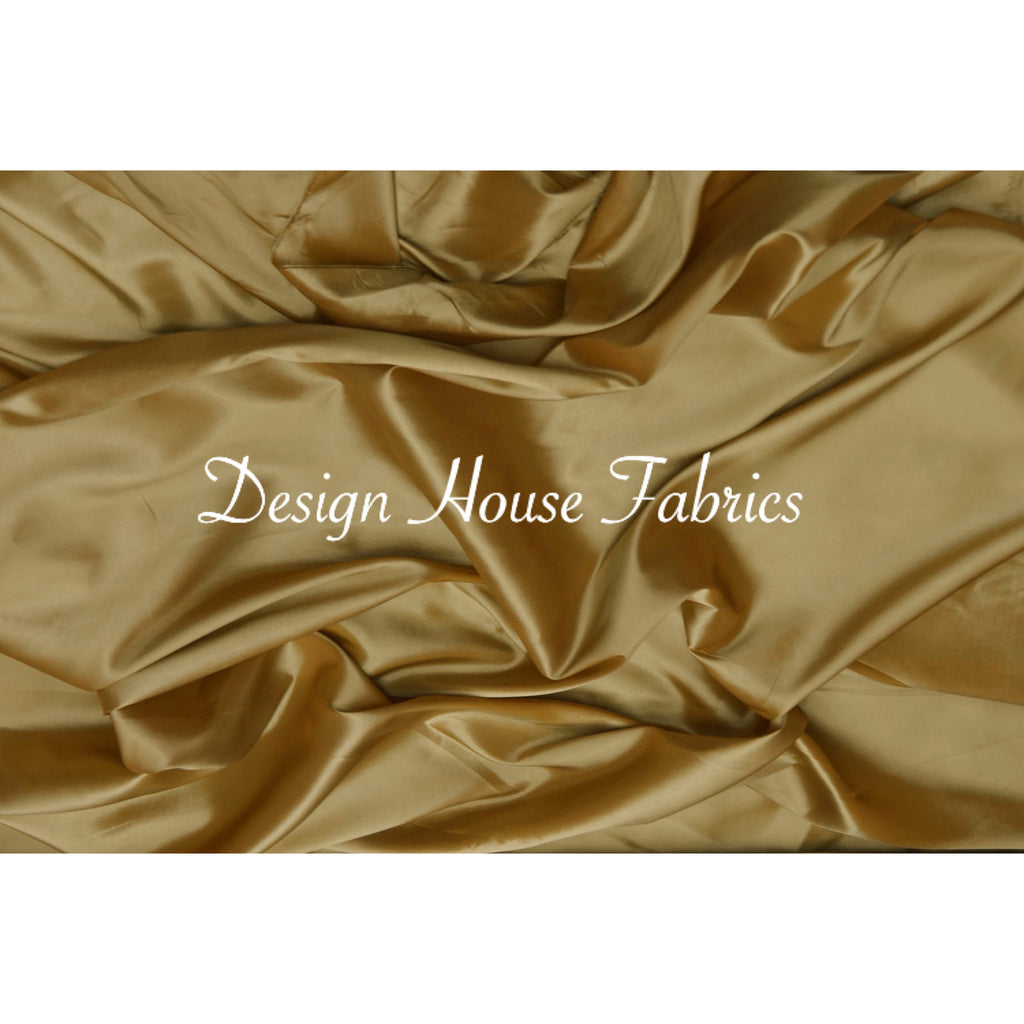 Stretch Taffeta  - Dark Gold