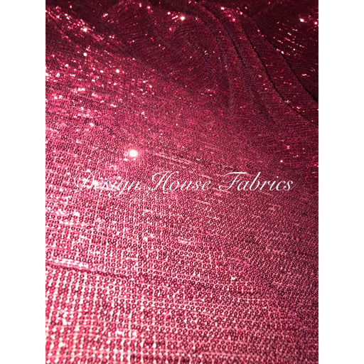 Sequin A- Burgundy