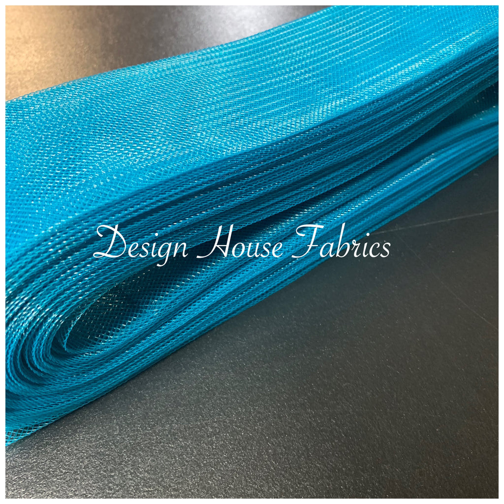 Horse Hair - 3in Teal Stiff