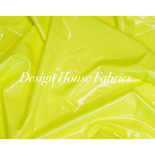 Stretch PVC Vinyl - Neon Yellow