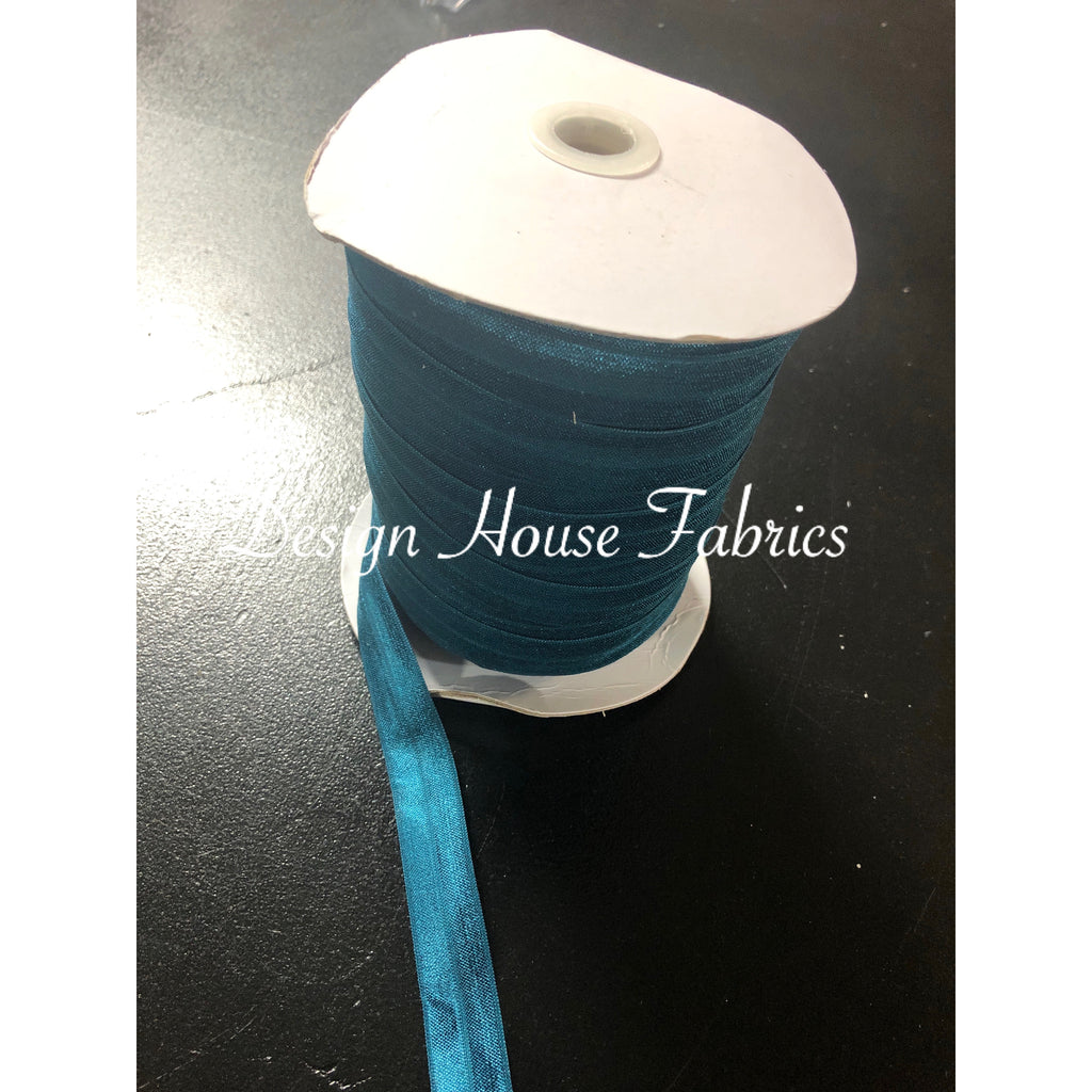 Fold Over Elastic 5/8 - Teal