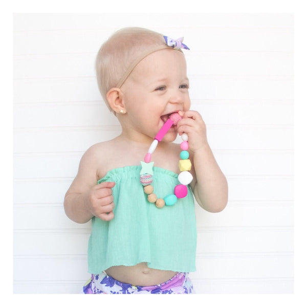 Sensory Teething Ring - Lux And Bloom