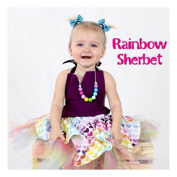 Princess Silicone Teething + Dress Up Necklaces - Lux And Bloom