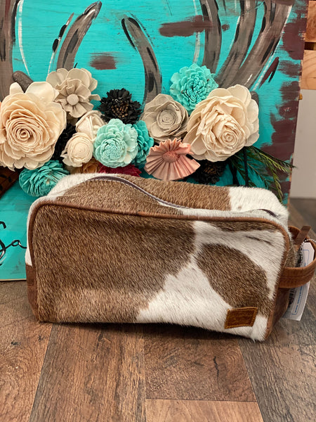 Old West Toiletry Bag ~ Tan