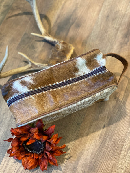 Old West Aftershave Bag ~ Brown