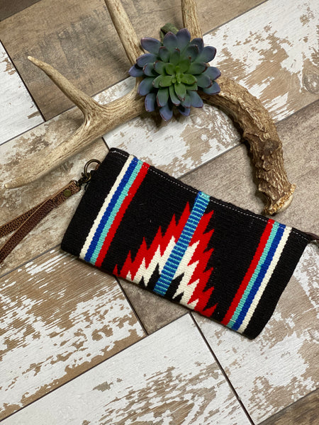 The Pendleton Wristlet