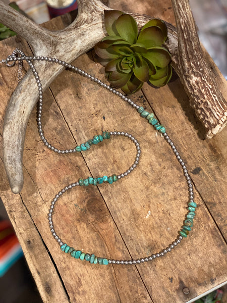 Carrie Necklace ~ Turquoise