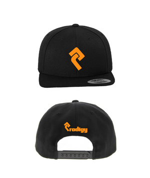Orange and Black Snapback