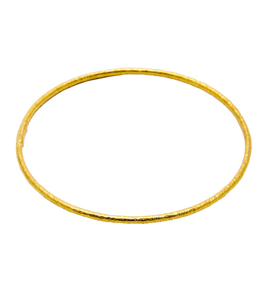 Ara 24K Classic Thin Tube Bangle