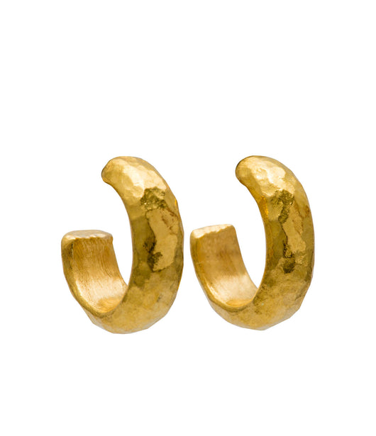 Ara 24K Extra Small Hoop Earrings