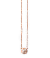 Andi Alyse Small Rose Gold Darling Dot Necklace