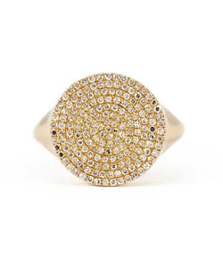Andi Alyse Yellow Gold Darling Dot Ring