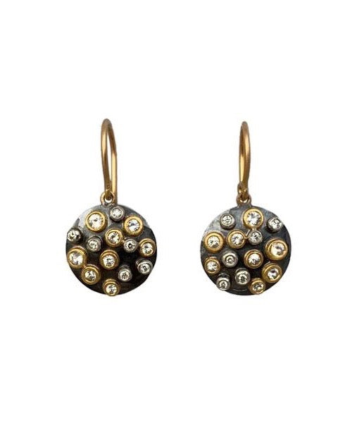 Annie Fensterstock Cornucopia Earrings