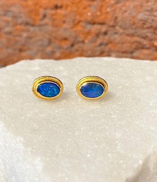 Ara Opal Stud Earrings