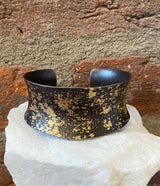 Pat Flynn Iron and 22kt Gold Cuff