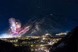 """New Year's Eve Fireworks over Aspen"""