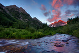 """Maroon Creek Sunrise"""
