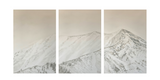 """Highlands Hikers"" Triptych"