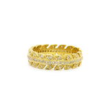 Sethi Couture Yellow Gold Arrow Eternity Band
